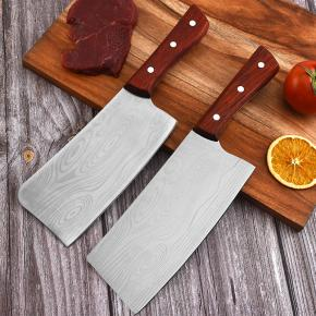 Kitchen butcher & cleaver