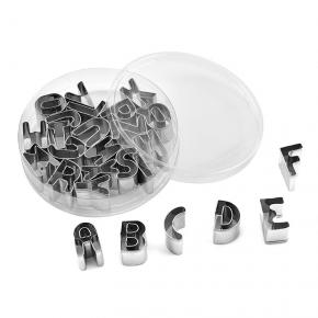 26 letters baking mold